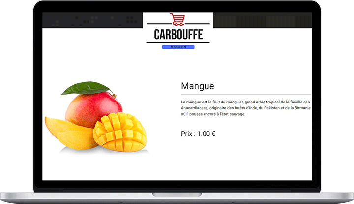 Site E-commerce carbouffe